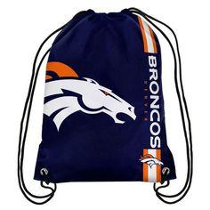 Denver Broncos Big Logo Drawstring Backpack