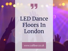 Calibar Events LED dance floor is the perfect way to get the party started at your wedding or event! Whether you're planning a birthday party, wedding, corporate event, or killer party, LED Dance Floors will leave your guests amazed. To book: