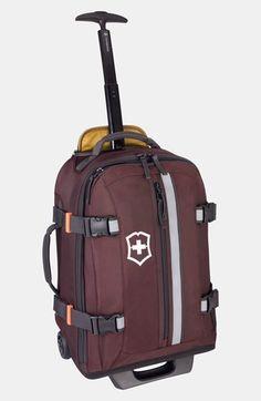 Men's Victorinox Swiss Army Rolling Backpack - Black