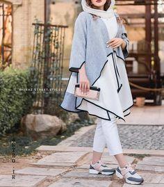 Street Hijab Fashion, Skirt Fashion, Fashion Dresses, Iranian Women Fashion, Muslim Fashion, Japan Fashion, Daily Fashion, Teen Fashion, Dress Clothes For Women