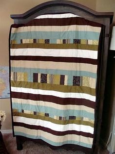 Love this baby boy quilt!