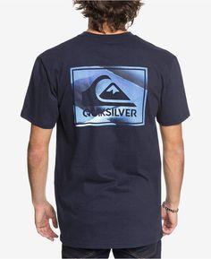bccb170a037be5 Quiksilver Men s Creased Again Logo-Print T-Shirt