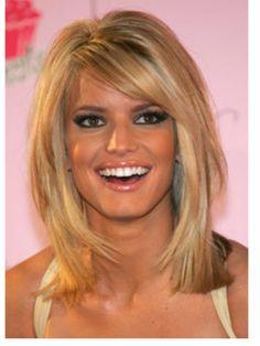 Jessica Simpson's hair