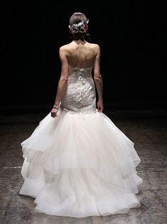 Lazaro Wedding Dresses Spring 2014 Collection. To see more: http://www.modwedding.com/2014/04/21/lazaro-wedding-dresses-spring-2014/ #wedding #weddings #fashion