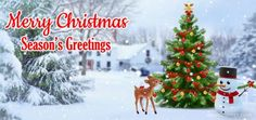 Season's Greetings and Merry Christmas Wishes, messages, greetings, ecard for friends & family #christmas #merrychristmas