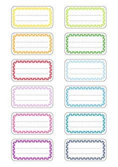 Etiquette, etiquettes, étiquettes, étiquettes école, étiquettes cahiers…