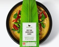 M&S food packaging for the Modern Asian range in chilled ready meals, by Gingerbread Lady Takeaway Packaging, Food Packaging Design, Brand Packaging, Indian Food Recipes, Asian Recipes, Food Retail, Greens Recipe, Cafe Food, Food Design