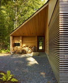 Micro-Cabin - The 'Nindo' micro-cabin was crafted by a Finnish designer named Robin Falck. It's a newly designed cottage in the woods that has ...