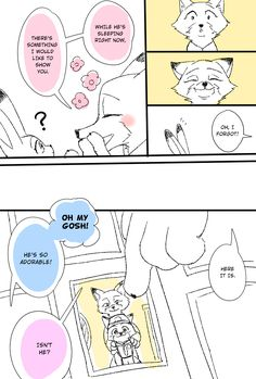 Zootopia News Network: Comic: Godspeed, Young Man (Original by Haruske) (Translated by ZNN Translation Team)