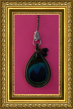Peacock Feather Ceiling Fan Pull Chain / by EcclectricityStore