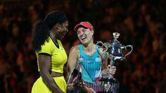 Finale der Australian Open: Angelique Kerber - Serena Williams im LIVETICKER