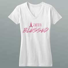 I am Blessed 'Breast Cancer' Tee