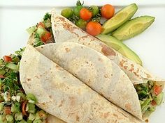 Meals Fit for a Family: Grilled Chicken Avacado Wrap