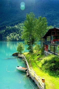 Summer, Odalen, Norway