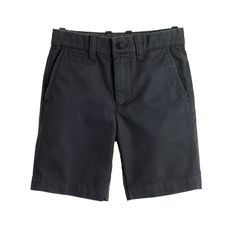 J.Crew - Boys' Stanton short in garment-dyed chino