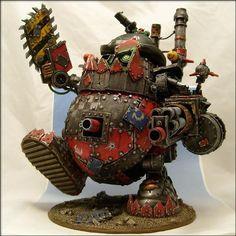 Warhammer Ork - Mr. Potato Head conversion