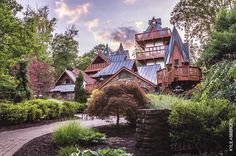 From haunted Ohio sites to ethnic eats to a collection of castles, our checklist offers 26 destinations to keep an eye out for when you're on the road. | Pictured: Landoll's Mohican Castle | Ohio Travel | OhioMagazine.com