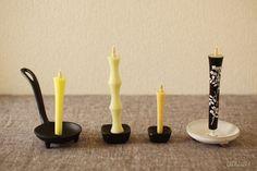 Japanese traditional candles +UGUiSU Blog +UGUiSU Blog