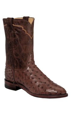 Vintage Lucchese Eel Skin Boots Burgundy Leather Rare San Antonio Tx Men S 10 1 2 B