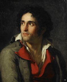Jacques Louis David. French. (1748-1845). - Portrait presumed to be of his Jailer. 1794. oil on canvas.