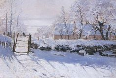 Claude Monet, The Magpie , 1868-1869