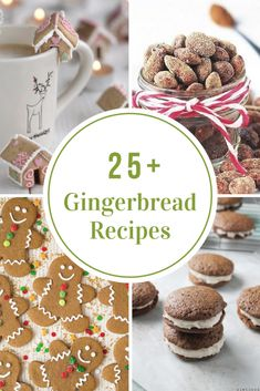 As I was searching the web for Gingerbread Recipes I was surprised to find so many recipes that can be made with using Gingerbread, like smoothies, almonds, bark, and sugar scrub. Christmas Breakfast, Christmas Sweets, Christmas Cooking, Christmas Goodies, Christmas Holidays, Merry Christmas, Holiday Cookies, Holiday Desserts, Holiday Baking