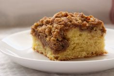Cinnamon Cream Cheese Coffee Cake #breakfast #coffeecake #recipe