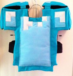I create custom, one of a kind, Minecraft costumes for any occasion. Youll definitely stand out from the crowd with this one of a kind, carefully