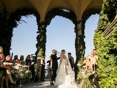 Ceremony under the Loggia Durini
