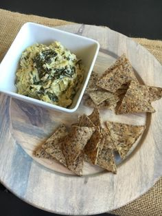 The Perfect Dip and Appetizer for Any Party or Game-Day Fun! Vegan and Gluten-Free Cashew Cream Cheese Spinach and Artichoke Dip