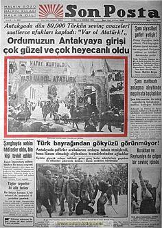 Tarihi gazete manşetleri 1937 - 1942 gazete manşetleri