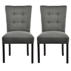 Have To It Morgana Beige Tufted Parsons Dining Chair