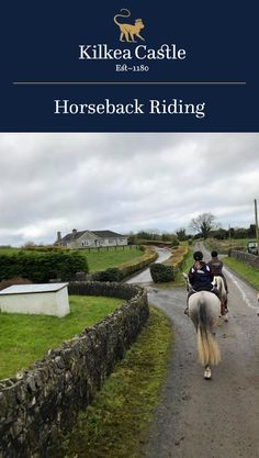 Cherish forever the memories of horseback riding through the stunning Ireland countryside and discovering all of the beautiful sights along the way. Of the various Estate Activities offered at Kilkea Castle, horseback riding is not one to miss out on.