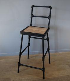 Chaise de bar ou d'ilôt hauteur de l'assise 76cm…