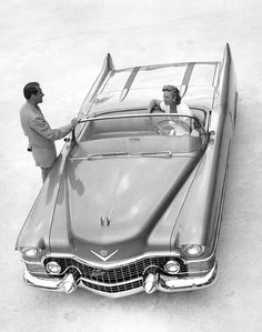 1953 Cadillac Le Mans. Was a concept car that gave rise to other convertible models of the 1950s. Le Mans later appeared in GM as a Pontiac vehicle built in the 1960s, 1970s, 1980s, and 1990s.