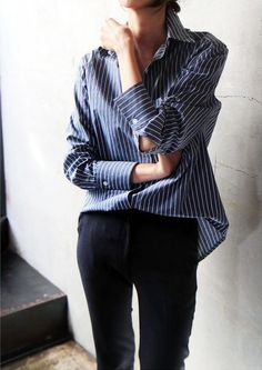 An Easy Masculine-Inspired Look To Try Now | Le Fashion | Bloglovin'