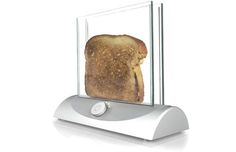 see through bread toaster