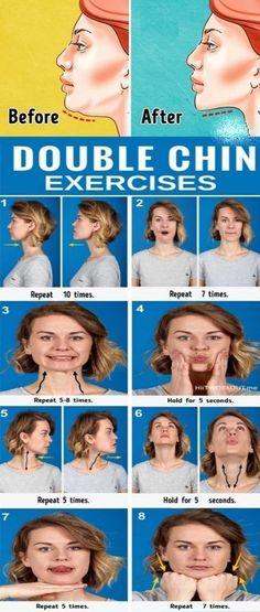 7 Most Effective Exercises to Get Rid of a Double Chin. 7 Most Effective Exercises to Get Rid of a Double Chin. Mental Health Articles, Health And Fitness Articles, Health Tips, Health Fitness, Key Health, Fitness Workouts, Double Chin Exercises, Double Chin Workout, Pilates Training