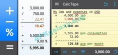 This Latest version of CalcTape Pro Tape Calculator includes several changes which Feature are mentioned below. You can Simply Download this CalcTape Pro Tape Calculator directly from APK4Lite, You have to do 1 or 2 clicks for Direct Download on Your Mobile, Laptop or Tablet - Links given below. Check New APK Free Android Games Check New APK Free Android Applications Check New APK Free Android Launcher Check New APK Free Android Theme Check New APK Free Android WallPapers
