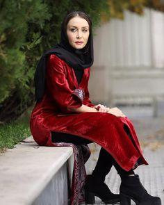 مدل مانتو بازیگران زن حدیض فولادوند