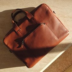 Framework Briefcase in toffee  #tigframework #frameworkbriefcase
