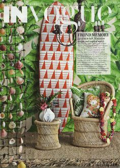 perfect as it gets!!   beachhouselifeandstyle:  True beach house style x Vogue Living, July/August 2012