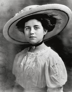 *ROSE ELIZABETH FITGERALD ~  the year of her official debut to Boston society, 1911.