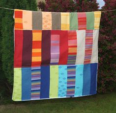 Babywearing quilts for babies from scraps of Didymos wraps