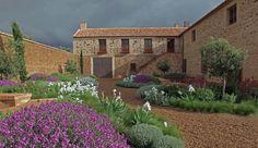Un jardín mediterráneo - despiertaYmira