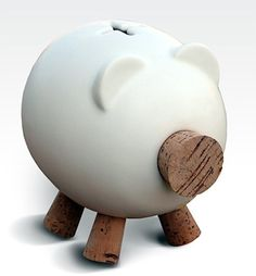 Gorrinucha piggy bank. My favourite piggy bank: http://www.helpmetosave.com/2012/02/piggy-bank/