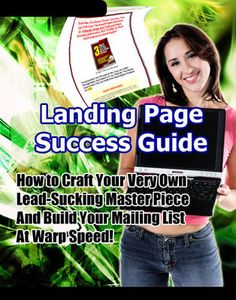 Buy Landing Page Success Guide by John McLoad and Read this Book on Kobo's Free Apps. Discover Kobo's Vast Collection of Ebooks and Audiobooks Today - Over 4 Million Titles! Online Marketing Courses, Affiliate Marketing, Internet Advertising, Internet Marketing, Landing Pages That Convert, Free Training, Earn Money Online, Guide, That Way