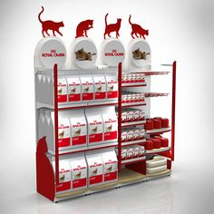 ROYAL CANIN RAYON CHAT Shop Display Stands, Pos Display, Display Design, Booth Design, Cosmetics Display Stand, Cosmetic Display, Point Of Purchase, Point Of Sale, Pos Design