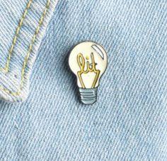 "CUTE JACKET PINS - ""Lit"": Funny Pins, Enamel Pin, Handmade, Lapel Pin, Jacket, Boyfriend,, Christmas Gifts by VinylLoversUnite on Etsy"