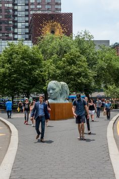 ROCK MAMA NYC LIFESTYLE BLOG-Art In The Parks - Lionel Smit